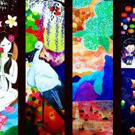 2013/ベトナム料理「サイゴン桜」装飾画
